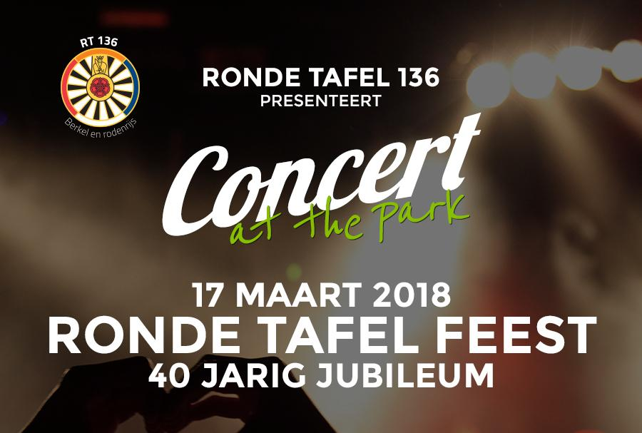 Concert at the Park - 17 maart 2018